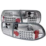 1993 Honda Civic Clear LED Tail Lights