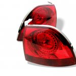 Honda Accord 1994-1995 Red LED Tail Lights