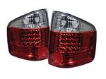 2000 Chevy S10 Red and Clear LED Tail Lights