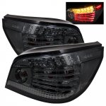 2007 BMW 5 Series E60 Smoked LED Tail Lights