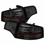 Audi A4 Sedan 2006-2008 Smoked LED Tail Lights
