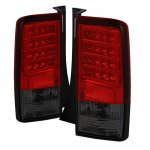 Scion xB 2003-2007 Red and Smoked LED Tail Lights