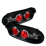 Mazda RX7 1993-1995 Black LED Tail Lights