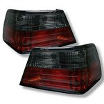 1995 Mercedes Benz E Class Red and Smoked LED Tail Lights