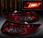 2007 Porsche 911 Red and Smoked LED Tail Lights