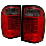 2001 Ford Ranger Red and Smoked LED Tail Lights