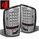 2006 Dodge Ram Chrome LED Tail Lights