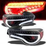 2013 Scion FRS Black LED Tail Lights