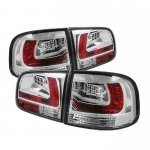 VW Touareg 2003-2007 Clear LED Tail Lights