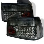 1996 BMW E36 Sedan 3 Series Smoked LED Tail Lights