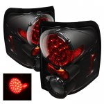 Mercury Mountaineer 2002-2005 Black LED Tail Lights