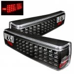 1988 Ford Mustang Black LED Tail Lights