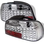 1999 BMW E38 7 Series Clear LED Tail Lights