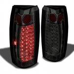 GMC Sierra 1988-1998 Smoked LED Tail Lights