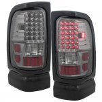2000 Dodge Ram Smoked LED Tail Lights