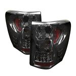 2004 Jeep Grand Cherokee Smoked LED Tail Lights