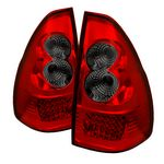 Lexus GX470 2003-2007 Red and Smoked LED Tail Lights