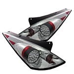 Nissan 350Z 2002-2005 Clear LED Tail Lights