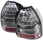 2000 Honda Civic Hatchback Clear LED Tail Lights