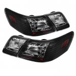 Toyota Camry 2007-2009 Black LED Tail Lights