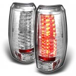 2009 Chevy Avalanche Clear LED Tail Lights