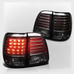 2003 Toyota Land Cruiser Smoked LED Tail Lights