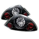 2003 Mitsubishi Eclipse Black LED Tail Lights