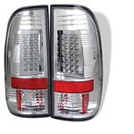 1998 Ford F150 Clear LED Tail Lights