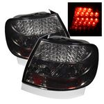 1996 Audi A4 Smoked LED Tail Lights