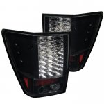 2009 Jeep Grand Cherokee Black LED Tail Lights