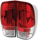 1999 Ford F150 Red and Clear LED Tail Lights