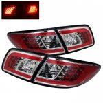 Mazda 6 Sedan 2003-2005 Clear LED Tail Lights