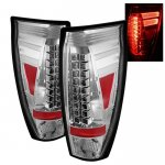 2005 Chevy Avalanche Clear LED Tail Lights