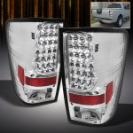 2012 Nissan Titan Clear Philips Lumileds LED Tail Lights
