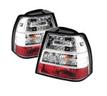 2004 VW Jetta Clear LED Tail Lights