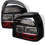 1994 VW Golf Black LED Tail Lights