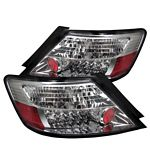 2007 Honda Civic Coupe Clear LED Tail Lights