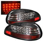 Pontiac Grand Prix 1997-2003 Black LED Tail Lights