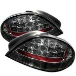 2002 Pontiac Grand AM Smoked LED Tail Lights