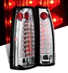 1990 GMC Sierra 2500 Clear LED Tail Lights