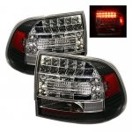 2004 Porsche Cayenne Black LED Tail Lights