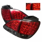 2001 Lexus RX300 Red and Smoked LED Tail Lights