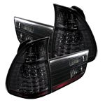 BMW X5 2000-2006 Smoked LED Tail Lights