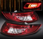 2007 Porsche 911 Red and Clear LED Tail Lights
