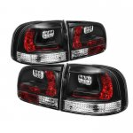 VW Touareg 2003-2007 Black LED Tail Lights
