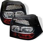 VW Golf 1999-2004 Black LED Tail Lights