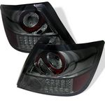 2008 Scion tC Smoked LED Tail Lights