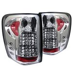 2000 Jeep Grand Cherokee Clear LED Tail Lights
