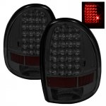 2002 Dodge Durango Smoked LED Tail Lights