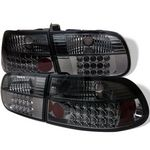 1993 Honda Civic Hatchback Smoked LED Tail Lights